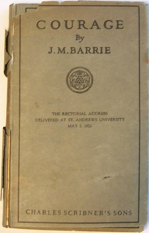 Courage by James Matthew Barrie