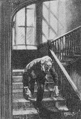 Sherlock Holmes The Creeping Man He sprang up, spat out some atrocious word at me, and hurried on past me, and down the staircase