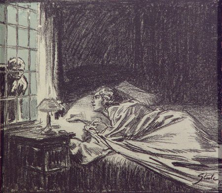 Sherlock Holmes The Creeping Man I dare say it was twenty seconds or so that I lay paralysed and watched the face