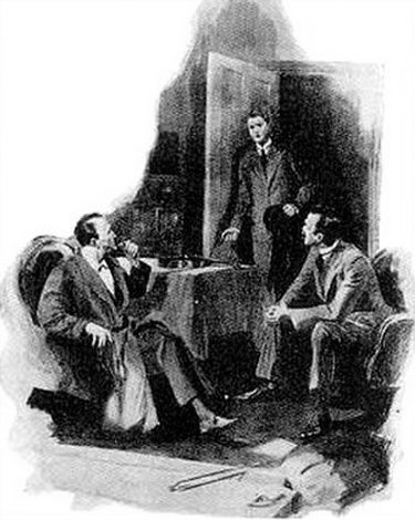 Sherlock Holmes The Creeping Man There was a quick step on the stairs, a sharp tap at the door and a moment later the new client presented himself