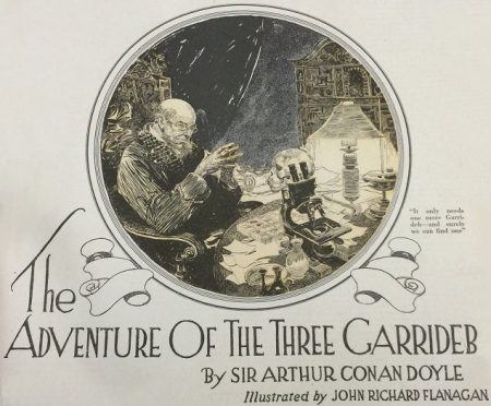Sherlock Holmes The Adventure of the Three Garridebs