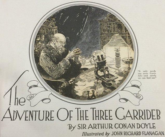 Sherlock Holmes The Adventure of the Three Garridebs