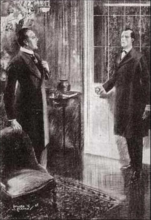 Sherlock Holmes The Illustrious Client By the way, Mr. Holmes, said he, did you know Le Brun, the French agent?