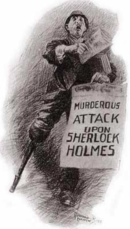 Sherlock Holmes The Illustrious Client Murderous Attack Upon Sherlock Holmes