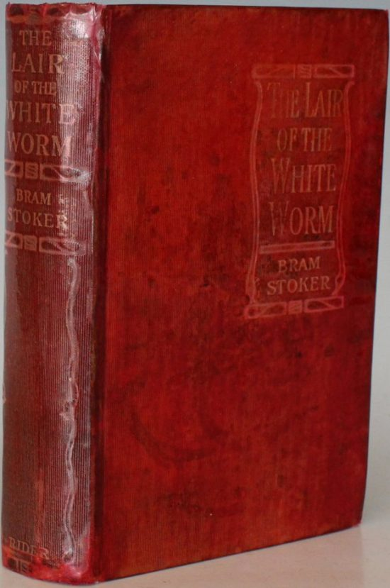 The Lair of the White Worm Book Cover by Bram Stoker