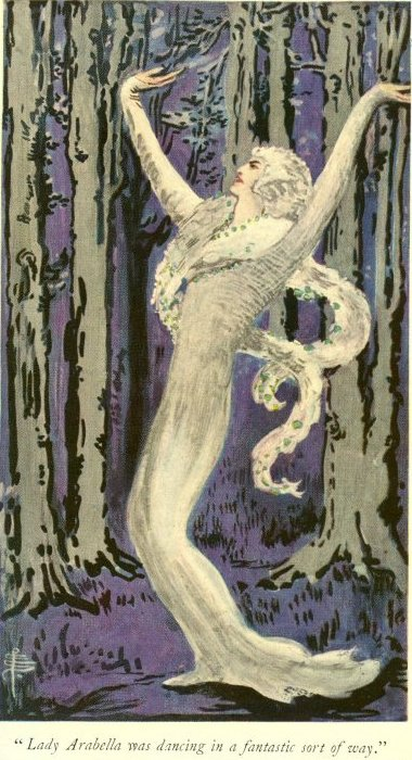 The Lair of the White Worm - Lady Arabella was dancing in a fantastic sort of way