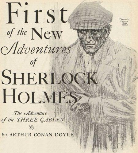 Sherlock Holmes The Adventure of the Three Gables