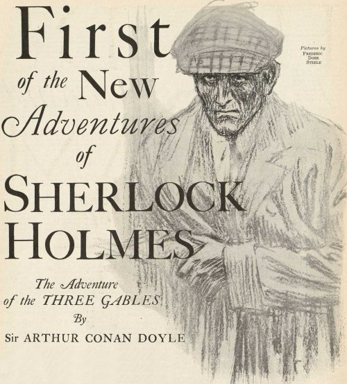 Sherlock Holmes The Adventure of the Three Gables