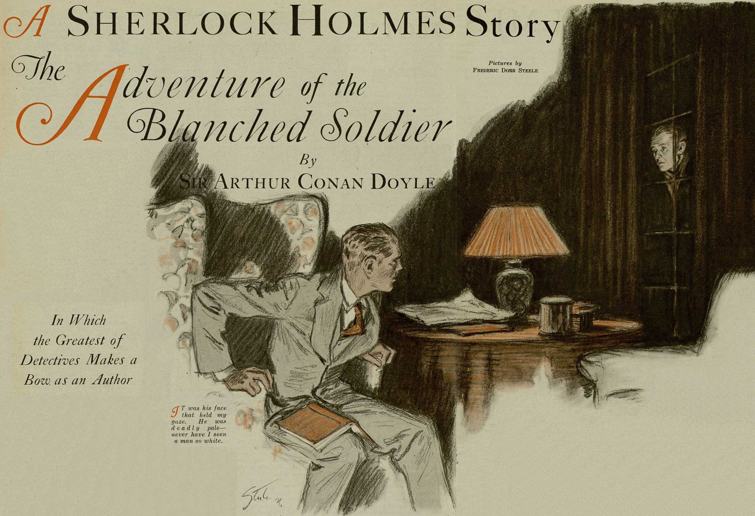 sherlock holmes the adventure of the blanched ier