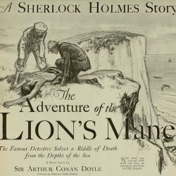 Sherlock Holmes The Adventure of the Lion's Mane