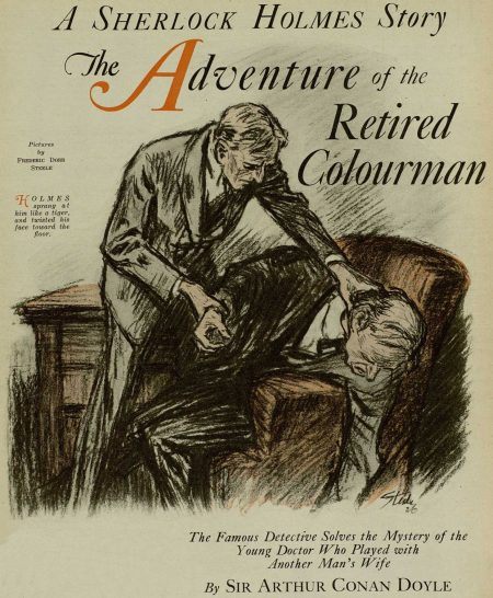 Sherlock Holmes The Adventure of the Retired Colourman
