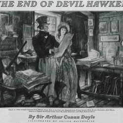 The End of Devil Hawker by A Conan Doyle