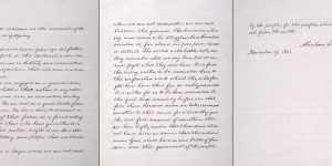 Abraham Lincoln's Gettysburg Address Alexander Bliss Copy