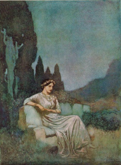 Edgar Allan Poe Bridal Ballad Poem