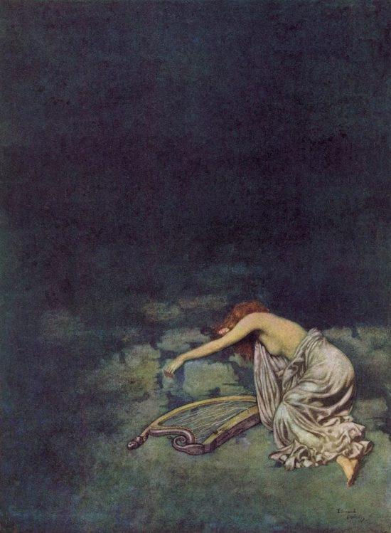 Edgar Allan Poe Silence Poem