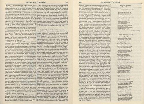 Edgar Allan Poe - Some Secrets of the Magazine Prison-House
