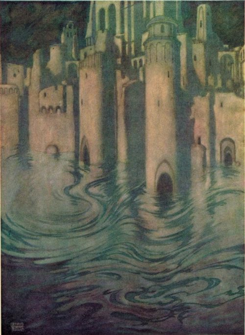 Edgar Allan Poe The City In The Sea Poem