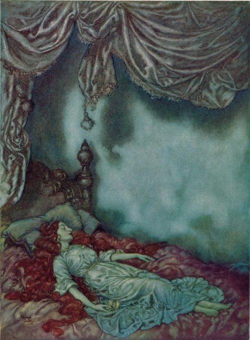 Edgar Allan Poe The Sleeper Poem