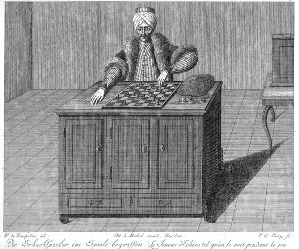 Maelzel's Chess-Player The Turk