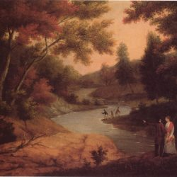 View on the Wissahickon by James Peale 1830