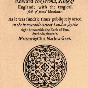Edward II Play by Christopher Marlowe