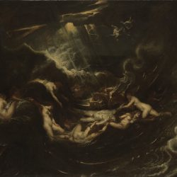 Hero and Leander Painting by Peter Paul Rubens