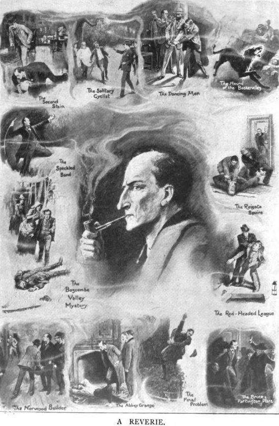 Sherlock Holmes A Reverie The Strand Magazine March 1911