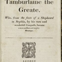 Tamburlaine the Great, Part I by Christopher Marlowe