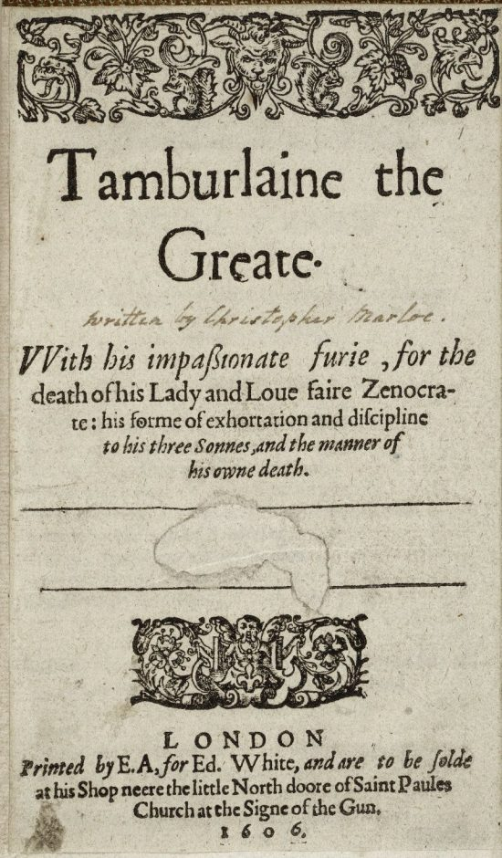Tamburlaine the Great, Part II by Christopher Marlowe