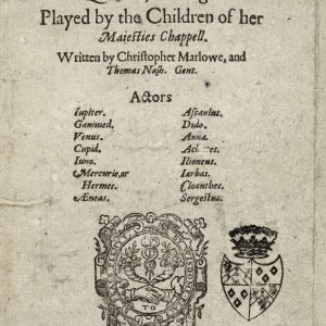 The Tragedy of Dido Queen of Carthage by Christopher Marlowe