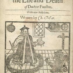 The Tragical History Of Doctor Faustus From The Quarto Of 1620 By Christopher Marlowe