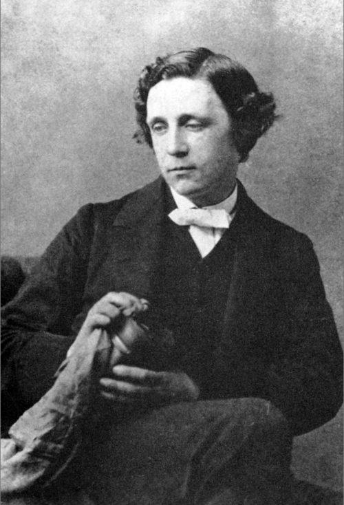 Lewis Carroll Photograph by Oscar Gustave Rejlander