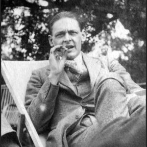 T. S. Eliot Photograph by Lady Ottoline Morrell